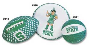 Michigan State Football, Flyer & Basketball 310 311 312