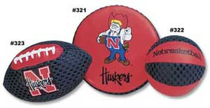 University of Nebraska Football, Flyer & Basketball 321 322 323