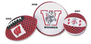 University of Wisconsin Football, Flyer & Basketball 330 331 332
