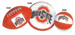 Ohio State Football, Flyer & Basketball 345 346 347