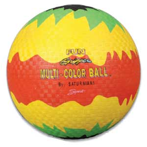 "Fun Gripper-Multicolor Playground Ball-8.5"" 823"